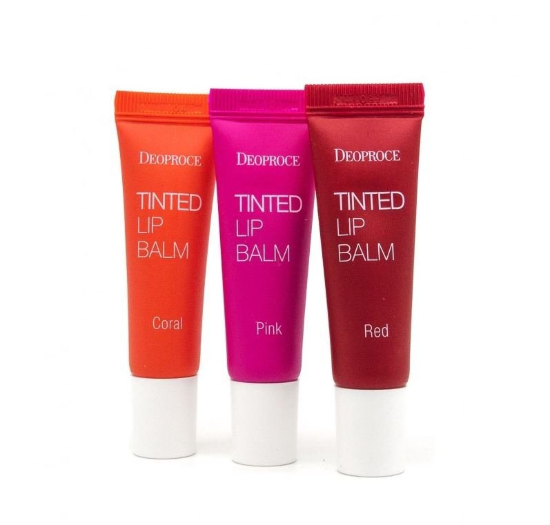 Тинт для губ Deoproce Tinted Lip Balm Red, 10 гр в интернет-магазине Etomarta.com